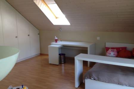 chambre dans une maison confortable - Blonay