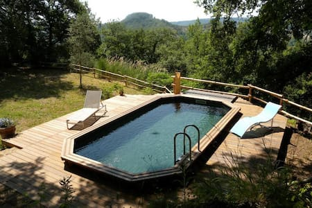 Honeymoon cottage with a pool - Lubriano - Haus
