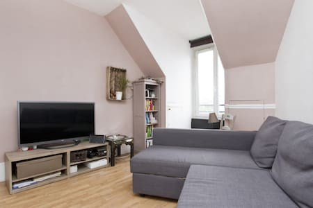 Cosy Flat 5min from Gare du Nord