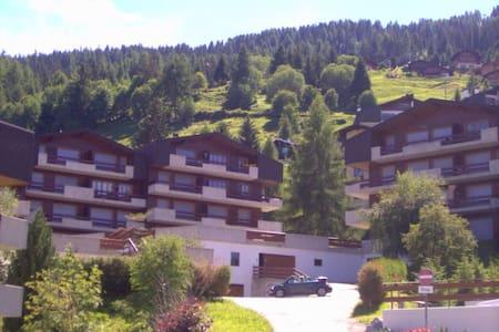 Appartement à La Tzoumaz 4 vallées - Apartamento