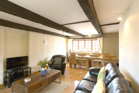 4* Rustic-Luxe Granary Barn,hot tub - Taunton - Casa
