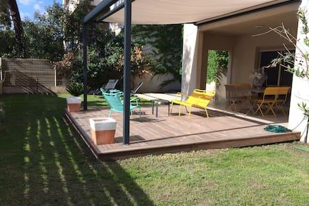 T3  Standing et jardin privatif