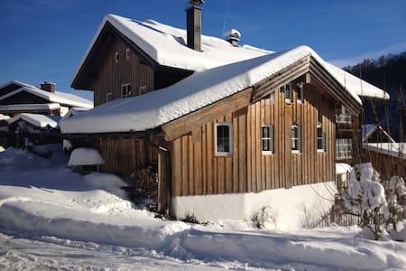 Holzhaus, 1-2 Zimmer im grünen Tal - House