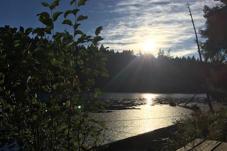 Quiet, funky, cozy island retreat - Blockhütte
