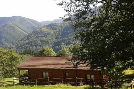 Casa de madera de 80 m2 útiles. - Maison