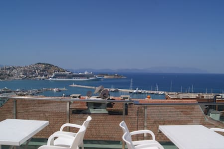 Kusadasi Centrum With Swiming Pool - Kuşadasi - Apartment