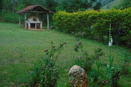 Casa de Campo Serra da Mantiqueira - camanducaia - Cabin