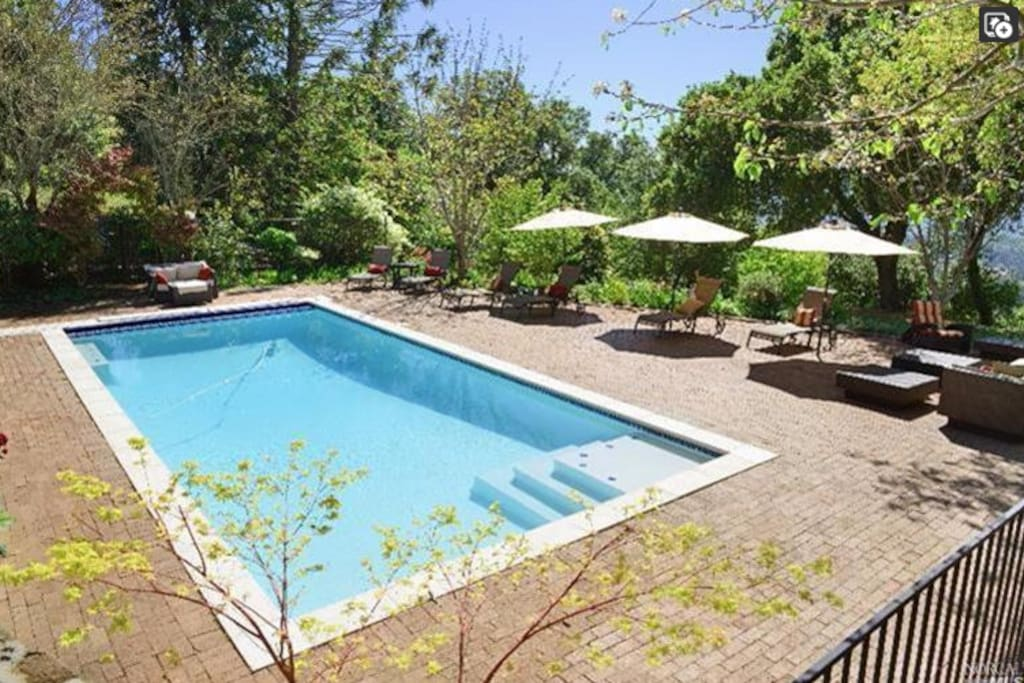 Swimming pool (unheated) available May - September, but you're welcome to swim year round if you don't mind the cold!