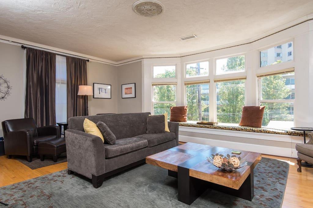 Beautiful, quiet and spacious flat
