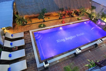 Twin City View-Free Pick Up - Krong Siem Reap - Bed & Breakfast