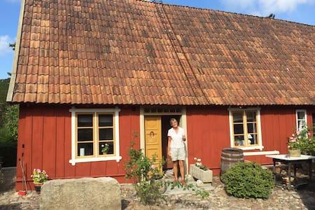 Eget boende i idyllisk skånegård i Brösarp - House