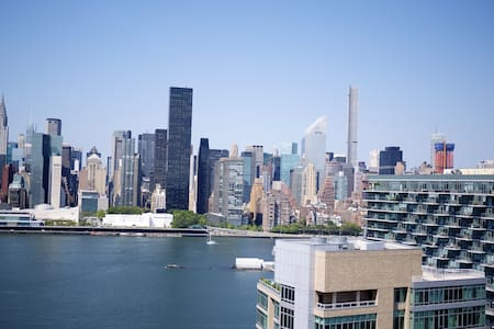 LIC 1 BR, City & River Views - New York - Apartment