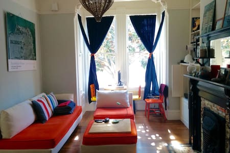 Large Victorian 2BR in the Castro