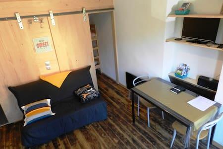 Studio en plein coeur des Alpes - Apartemen