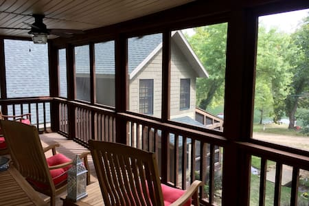 Wonderful cozy cabin on the Finley - Rogersville - Cabane