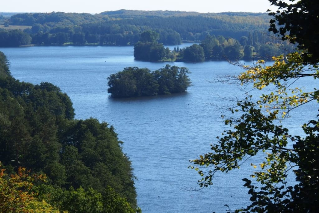 Einer der schönen Seen in der Nähe.