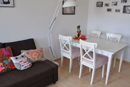 Modernes 50m² Apartment DA-Zentrum - Lägenhet