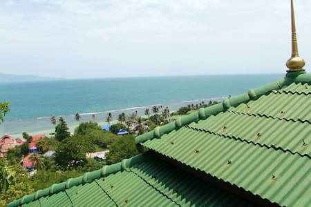Shared Villa -Deluxe Seaview 3 pax - Ko Pha Ngan - Bed & Breakfast