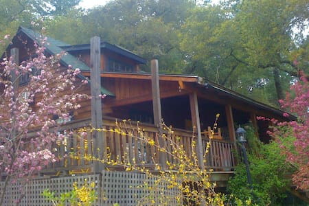 Wine Country Log Cabin