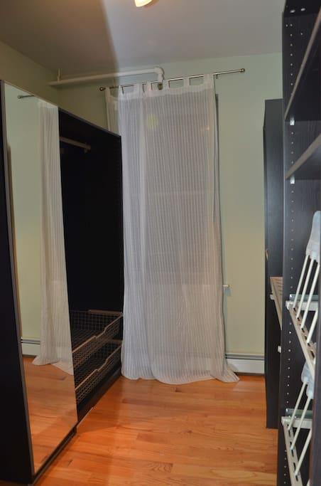 Walk-In Closet - Wall 1