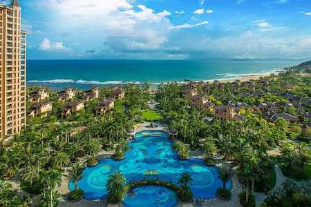 5★ Studio w/ beach pool spa garden - Sanya - Apartment