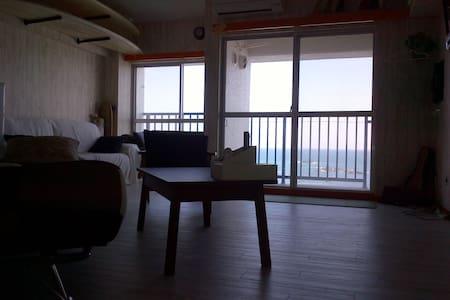 リビングルームからの眺めはオーシャンビュー!ビーチまで徒歩0分! - Villa
