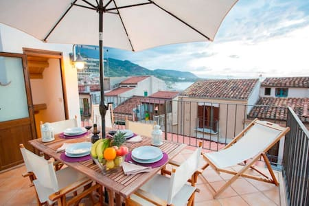 Cefalù luxury terrace