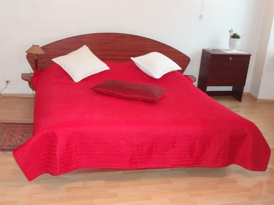 Vokieciu 16 apartment: bedroom 1