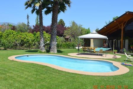Hermosa casa de campo - Casa