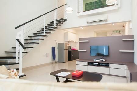 1 Bedroom: Duplex Studio 7 pax -The Scott Garden#2 - Apartmen