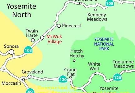 Romantic Retreat in the Sierras - Mi-Wuk Village - House