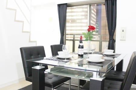 Roppongi/Elegant Duplex 2beds WIFI
