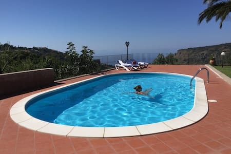 Villa Gisella - San Marco D'alunzio - Vila