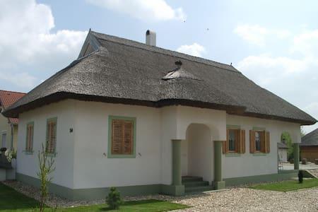 Hangulatos nádfedeles ház Csényén - Huis