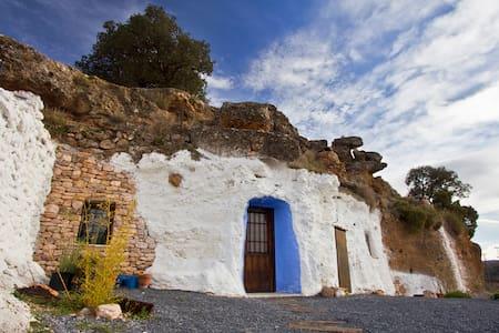 Cave Granado. Guadix. Granada - Los Balcones - Grot