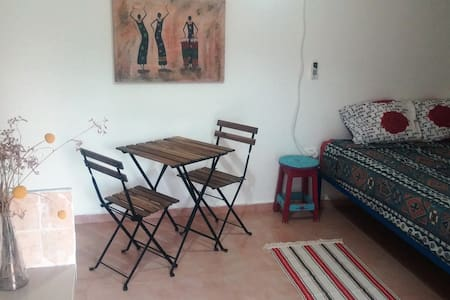 Cozy apartment in our peaceful yard - Ein Yahav - Appartamento