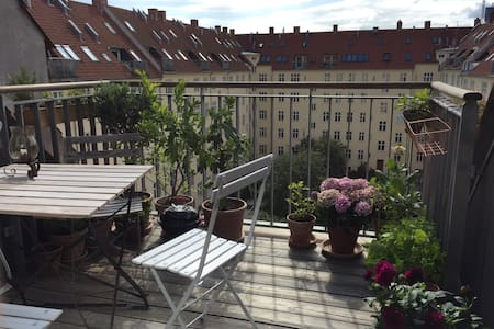 Penthouse apt - own roof terrace - Appartement