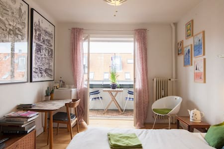 Christianshavn room with balcony - Appartamento