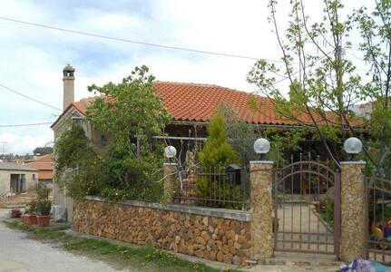 Spacious family house close to sea - Xilagani