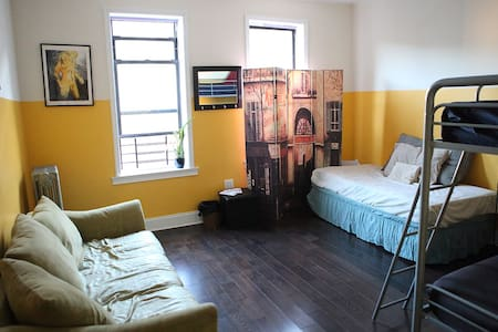 Room type: Shared room Property type: Apartment Accommodates: 1 Bedrooms: 1 Bathrooms: 1