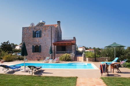 Villa Antina with private pool - Chania