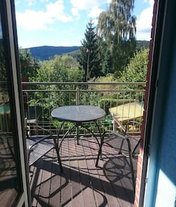 Ferienwohnung Balkon Aue 5 Personen - Lejlighed