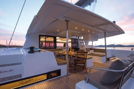 For sale are two cabins on a crewed 52' catamaran for a one week sail in the Caribbean departing from Antigua on December 26, 2015. This will undoubtedly be a fantastic way to spend the New Year and Christmas.