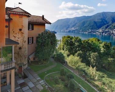 Lago di Como - casa con terrazzo - Faggeto Lario