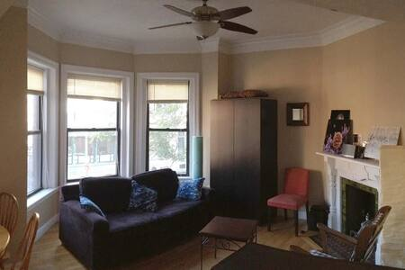 Sunny apartment in Back Bay