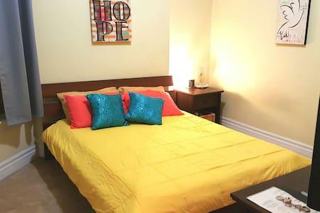 Comfortable private room in condo