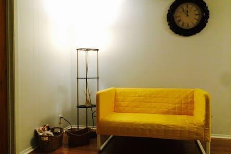 Cozy bedroom & kitchen / bathroom - Ház