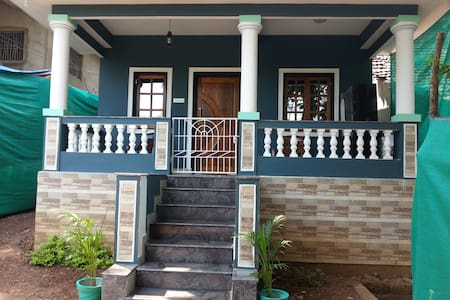 DG House Located at bank of river Talpona, Canacona , Goa. DG House just 2km away from Talpona Galgibaga Beach. Swimming,Fishing and boat rides can be done in river Talpona. In DG House you will not feel away from your home.