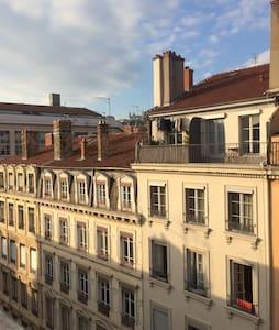 Joli Studio au cœur de Lyon 2 - Lyon - Appartement