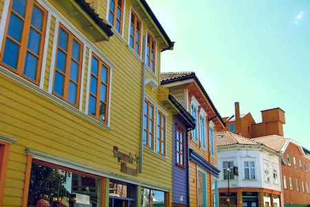 Prettiest street in the very centre of Stavanger - Lägenhet